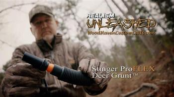 Woodhaven Custom Calls Stinger ProFLEX Deer Grunt TV Spot, 'Realism' - Thumbnail 9
