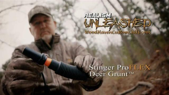 Woodhaven Custom Calls Stinger ProFLEX Deer Grunt TV Spot, 'Realism' - Thumbnail 8