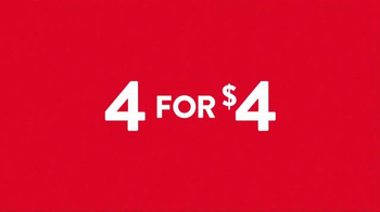 Jack in the Box 4 for $4 TV Spot, 'More Everything' - Thumbnail 1