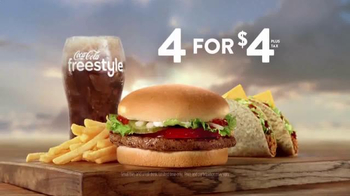 Jack in the Box 4 for $4 TV Spot, 'More Everything' - Thumbnail 8