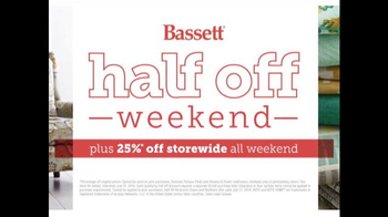 Bassett Half Off Weekend TV Spot, 'Final Day: Customized Chairs' - Thumbnail 10