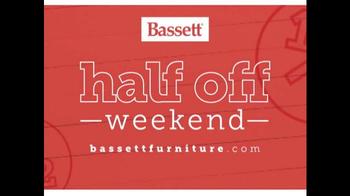 Bassett Half Off Weekend TV Spot, 'Final Day: Customized Chairs' - Thumbnail 2