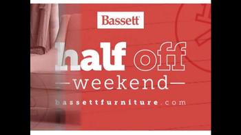 Bassett Half Off Weekend TV Spot, 'Final Day: Customized Chairs' - Thumbnail 3