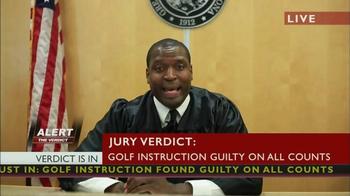 Tathata Golf TV Spot, 'Verdict' - Thumbnail 9