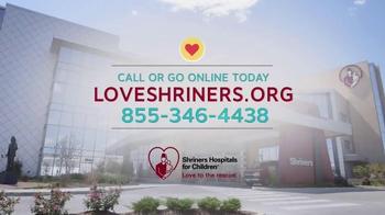 Shriners Hospitals for Children TV Spot, 'Love Is...' - Thumbnail 10