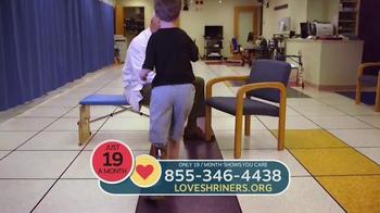 Shriners Hospitals for Children TV Spot, 'Love Is...' - Thumbnail 3
