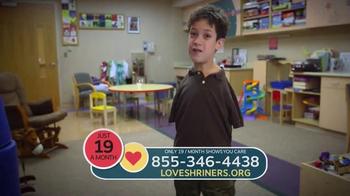 Shriners Hospitals for Children TV Spot, 'Love Is...' - Thumbnail 7