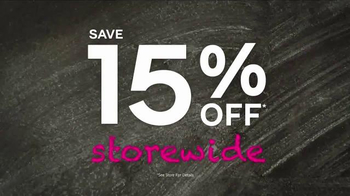 Ashley Furniture Homestore Back 2 School TV Spot, 'Storewide Savings' - Thumbnail 6