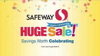 Safeway Huge Anniversary Sale TV Spot, 'Family Favorites'