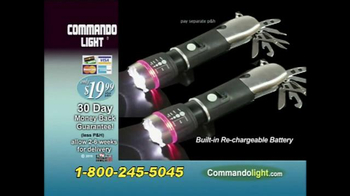 Commando Light TV Spot, 'The Powerhouse of Flashlights' - Thumbnail 9