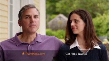 Thumbtack TV Spot, 'Qualified Professionals'