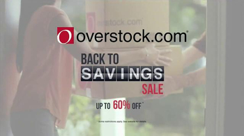Overstock.com Back to Savings Sale TV Spot, 'Back to Living' - Thumbnail 2