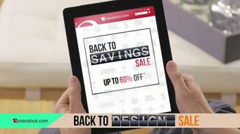 Overstock.com Back to Savings Sale TV Spot, 'Back to Living' - Thumbnail 3