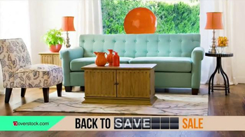 Overstock.com Back to Savings Sale TV Spot, 'Back to Living' - 162 commercial airings