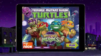 Teenage Mutant Ninja Turtles: Half-Shell Heroes TV Spot, 'Turtle Up' - 1401 commercial airings