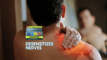 Icy Hot Lidocaine TV Spot, 'Aggravated Nerves' Featuring Shaquille O'Neal - 5857 commercial airings