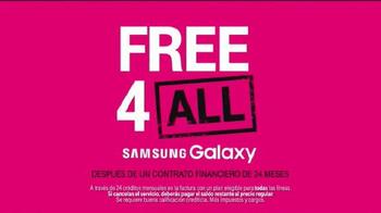 T-Mobile TV Spot, 'Free 4 All: Samsung Galaxy' [Spanish] - Thumbnail 2