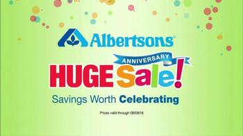 Albertsons Huge Anniversary Sale TV Spot, 'Gatorade and Quaker Bars' - Thumbnail 10