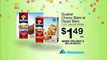 Albertsons Huge Anniversary Sale TV Spot, 'Gatorade and Quaker Bars' - Thumbnail 8