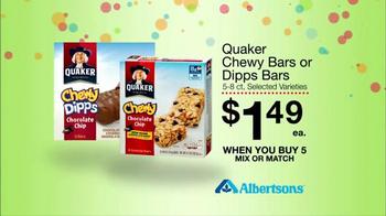 Albertsons Huge Anniversary Sale TV Spot, 'Gatorade and Quaker Bars' - Thumbnail 9