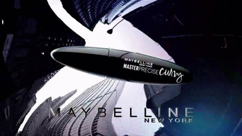 Maybelline New York Master Precise Curvy Eyeliner TV Spot, 'Control' - Thumbnail 2
