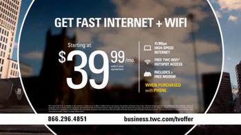 Time Warner Cable Business Class TV Spot, 'Teamwork by the Numbers' - Thumbnail 10
