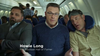 SKECHERS Wide Fit TV Spot, 'First Class for Your Feet' Featuring Howie Long