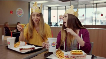 Burger King Grilled Dogs TV Spot, 'Awesome' - Thumbnail 3