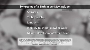 Sokolove Law TV Spot, 'Injuries at Birth' - Thumbnail 3