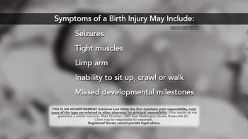 Sokolove Law TV Spot, 'Injuries at Birth' - Thumbnail 4