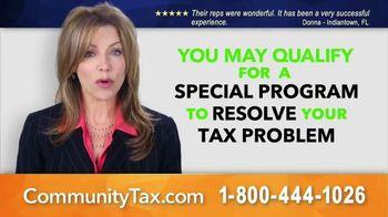 Community Tax Relief TV Spot, 'Special Program'