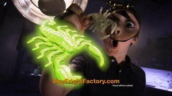 Fright Factory TV Spot, 'Terrifying Molds' - 587 commercial airings