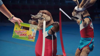 Lunchables Chicken Popper Kabobbles TV Spot, 'Ribbon Dancing' - Thumbnail 9