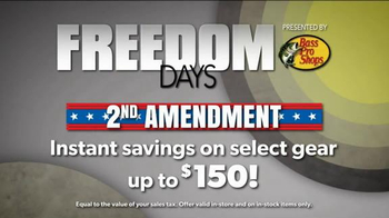 Bass Pro Shops Freedom Days TV Spot, '2nd Amendment Savings' - Thumbnail 3