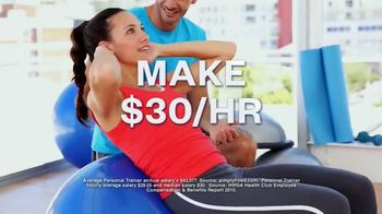 National Academy of Sports Medicine TV Spot, 'Become a Personal Trainer'