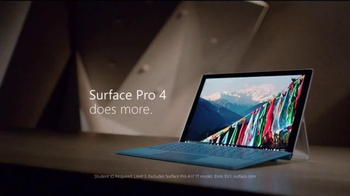 Microsoft Surface TV Spot, 'New Heights: Students' - Thumbnail 5