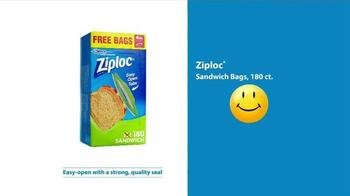 Walmart TV Spot, 'Ziploc Sandwich Bags: Orange' - Thumbnail 6