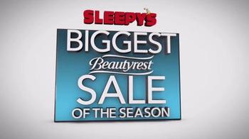 Sleepy's Biggest Beautyrest Sale of the Season TV Spot, 'Queen Sets' - Thumbnail 1