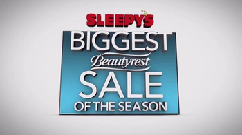 Sleepy's Biggest Beautyrest Sale of the Season TV Spot, 'Queen Sets' - Thumbnail 7