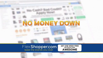 FlexShopper TV Spot, 'Electronics, Furniture and Appliances' - Thumbnail 2