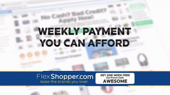 FlexShopper TV Spot, 'Electronics, Furniture and Appliances' - Thumbnail 3