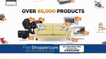 FlexShopper TV Spot, \'Electronics, Furniture and Appliances\'