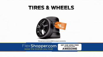 FlexShopper TV Spot, 'Electronics, Furniture and Appliances' - Thumbnail 8