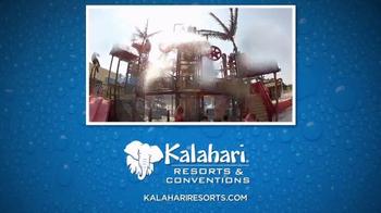Kalahari Resort and Convention Center TV Spot, 'Book Now' - Thumbnail 1