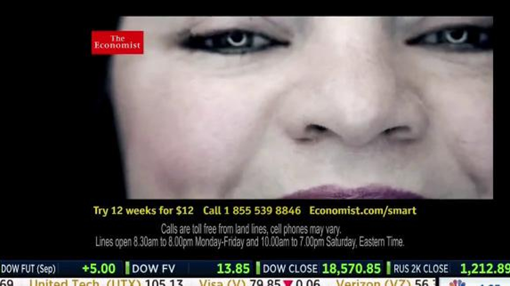The Economist TV Commercial, 'Another Reader'
