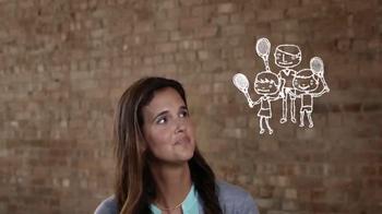 USTA TV Spot, 'El tenis' con Mary Jo Fernández [Spanish]