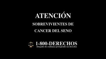 1-800-DERECHOS TV Spot, 'Taxotere' [Spanish] - Thumbnail 1