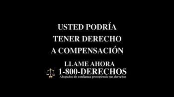 1-800-DERECHOS TV Spot, 'Taxotere' [Spanish] - Thumbnail 10