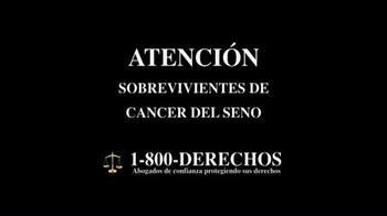 1-800-DERECHOS TV Spot, 'Taxotere' [Spanish] - Thumbnail 2