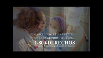 1-800-DERECHOS TV Spot, 'Taxotere' [Spanish] - Thumbnail 4